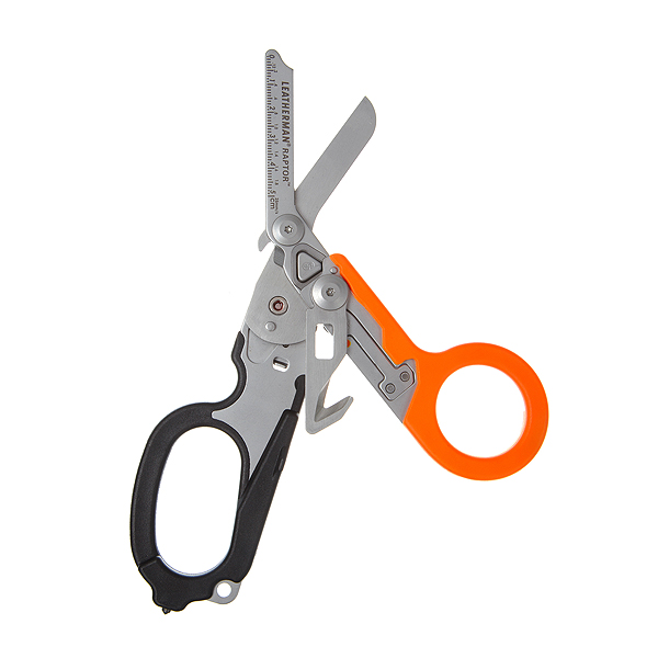 Мультитул LEATHERMAN RAPTOR, оранжевый/черный, 832158